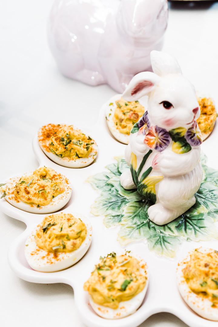 Belle's Loaded Deviled Eggs
