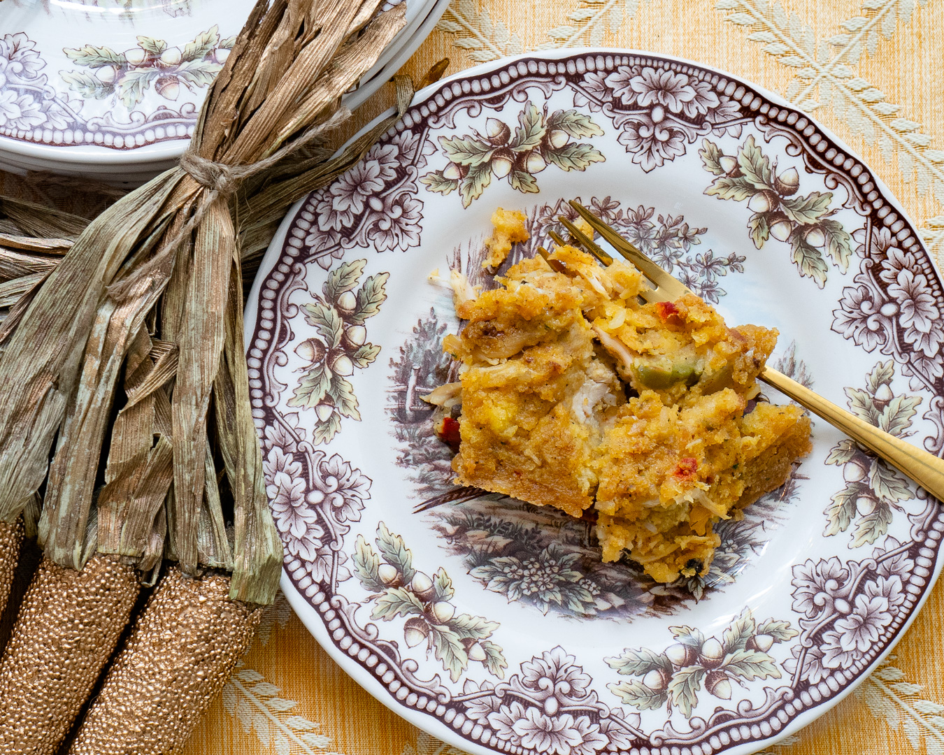 The Easiest Southern-Style Cornbread Dressing