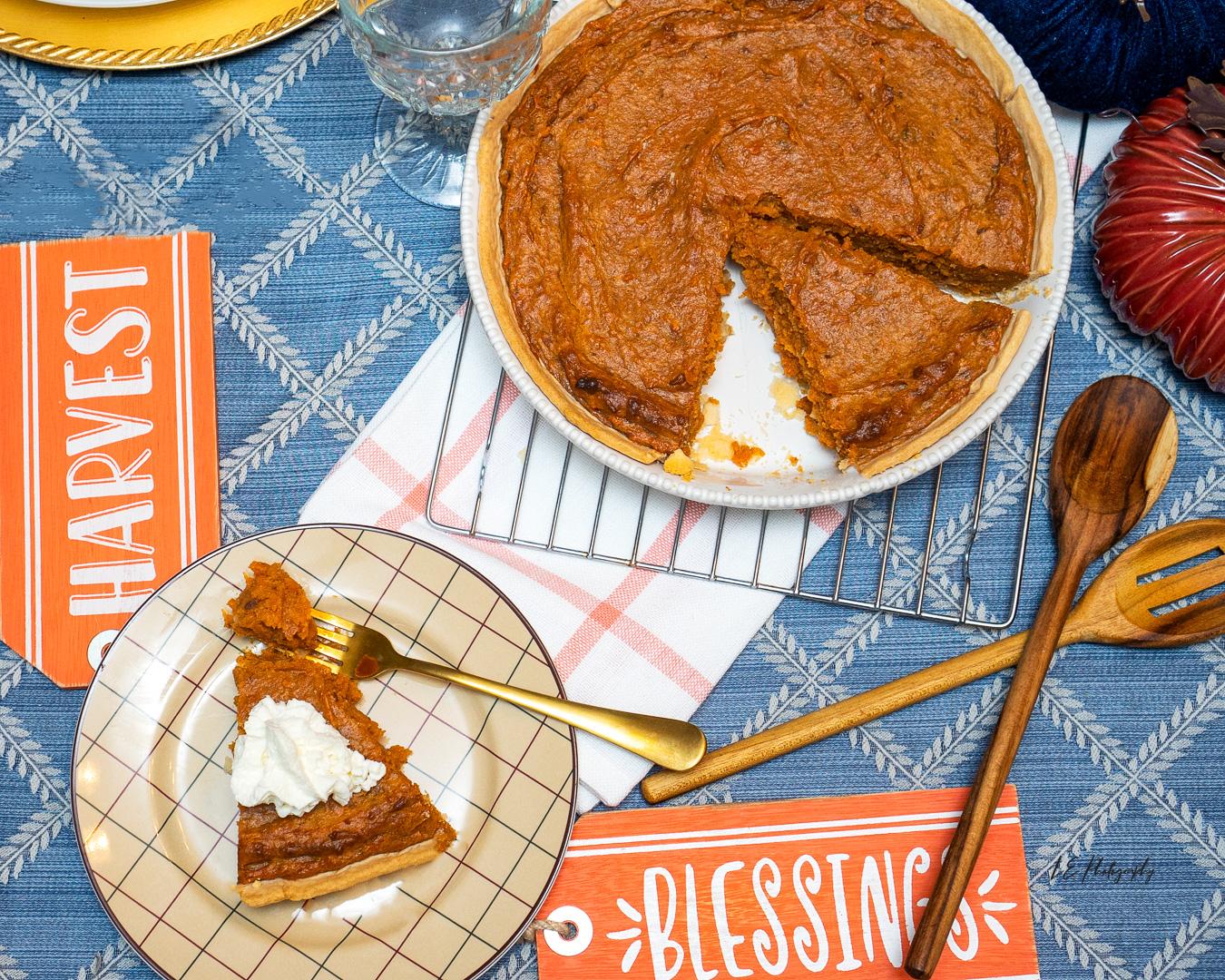 Belle's Sweet Potato Pie